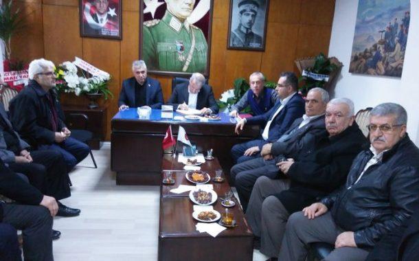 Malatya AK Parti Milletvekili Sayın Mustafa ŞAHİN Temad Malatya İl Başkanlığımızı Ziyareti Etmiştir