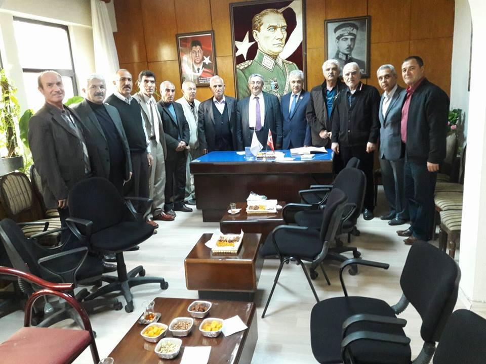 Vali Muavini Mehmet Ali AYTAÇ  derneğimizi ziyaret etmiştir