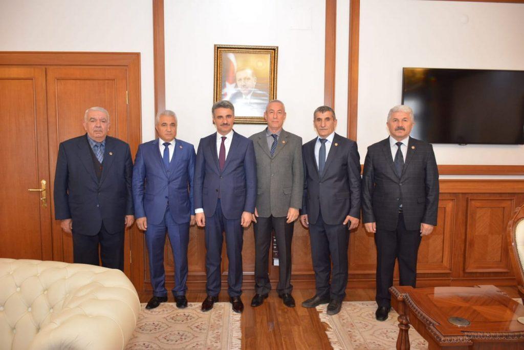 Temad Malatya İl Başkanlığının Malatya Valisi Aydın BARUŞ'a Hoş Geldin  ziyareti